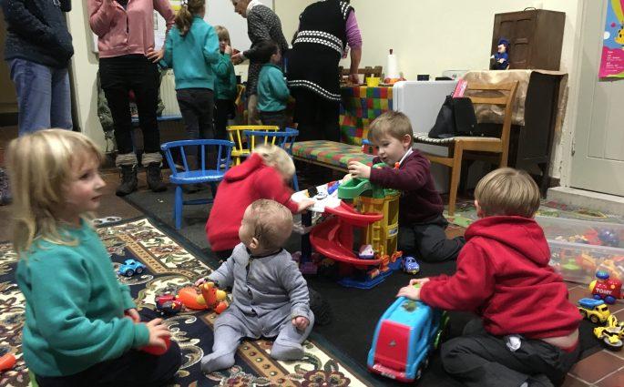Busy Llansadwrn Vestry Venture