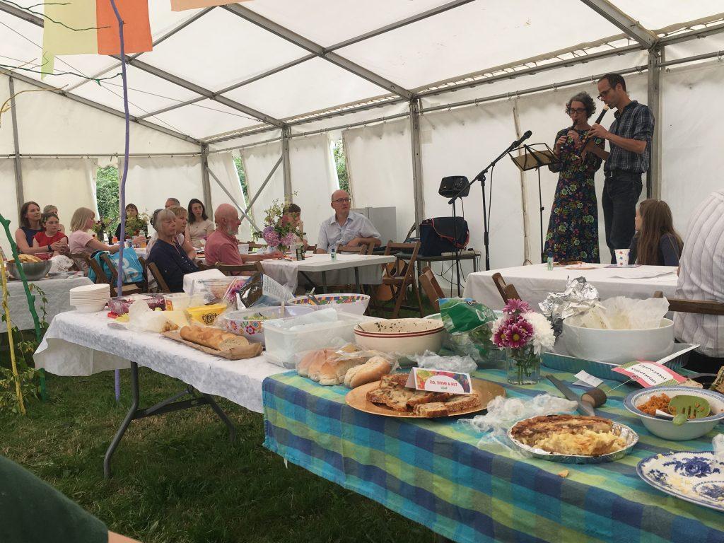 Llansadwrn Big Lunch 2017