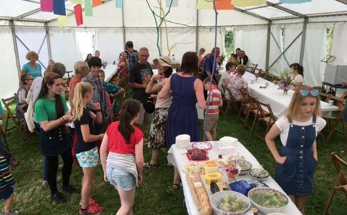 Llansadwrn Big Lunch 2017