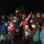 Llansadwrn Christmas lights