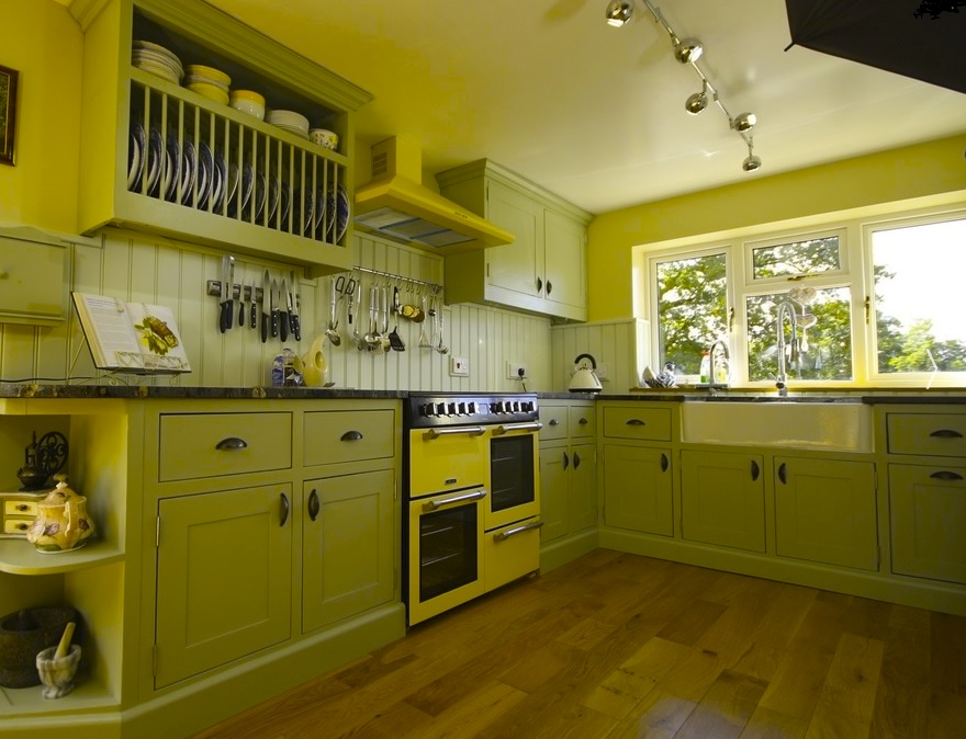 Arwel Davies hand made kitchen