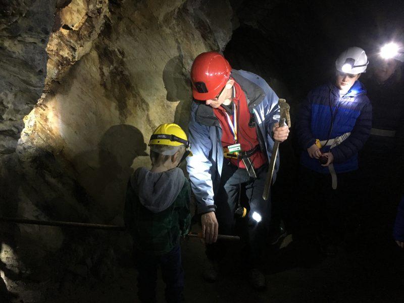 Dolaicothi gold mines tour