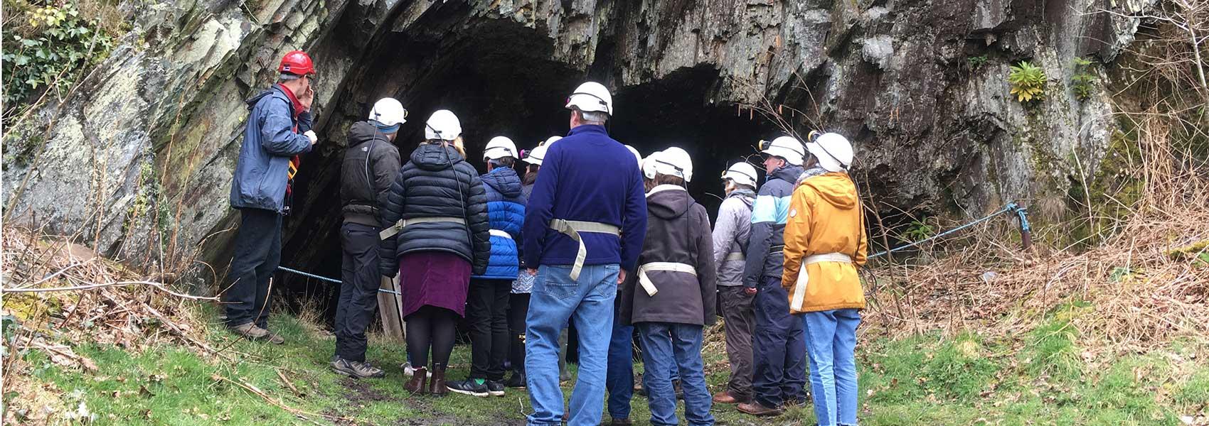 Dolaicothi Gold Mines - the tour