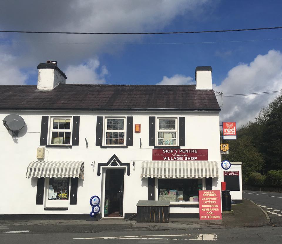 The Old Post Office Village Shop Llanwrda