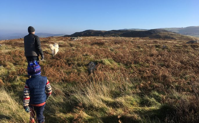 Garn Goch Iron Age hill top fort
