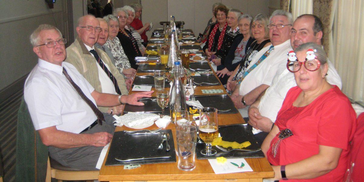 OAP Christmas lunch for Llansadwrn and LLanwrda