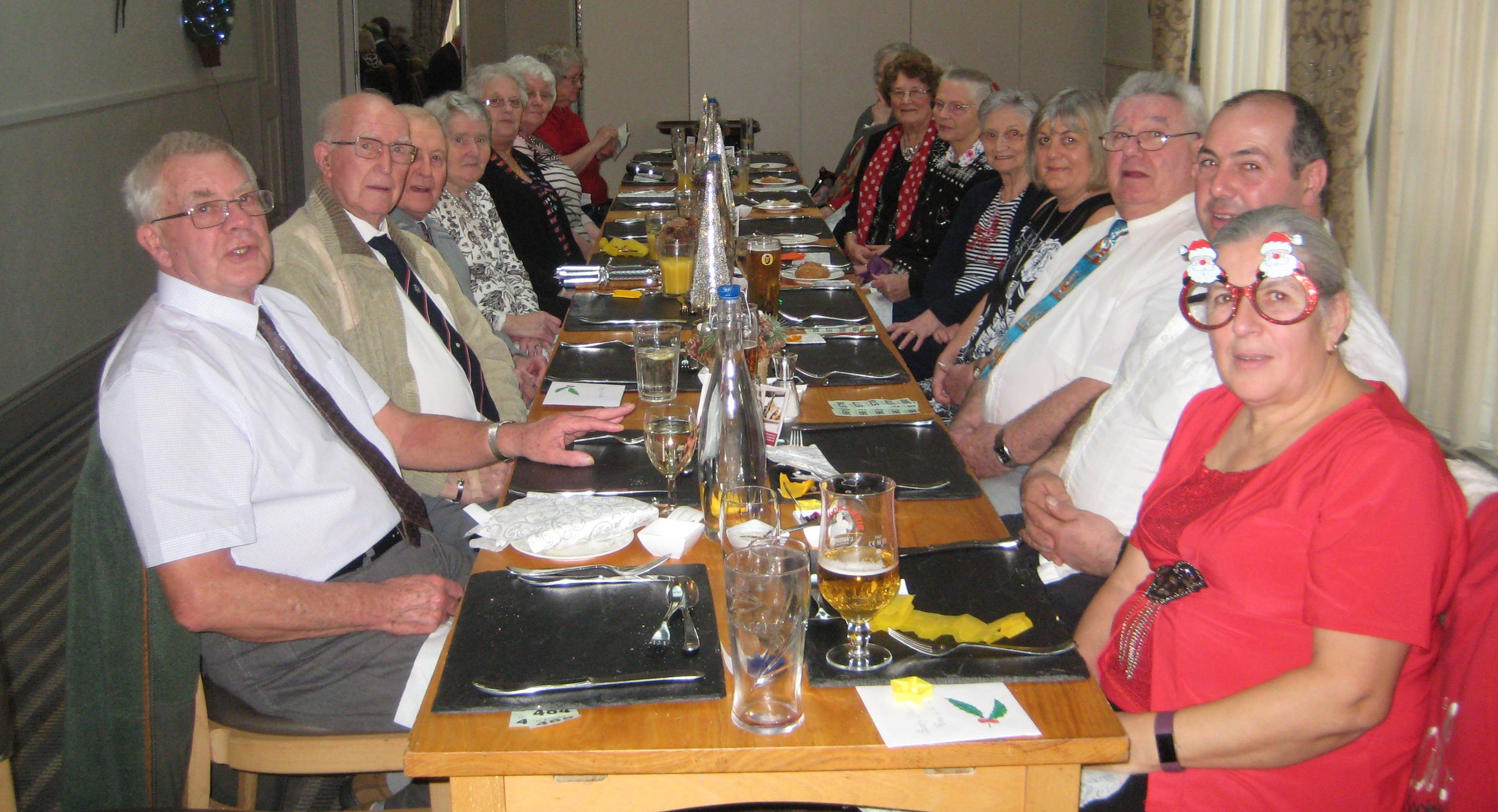 OAP Christmas lunch for Llansadwrn and LLanwrda