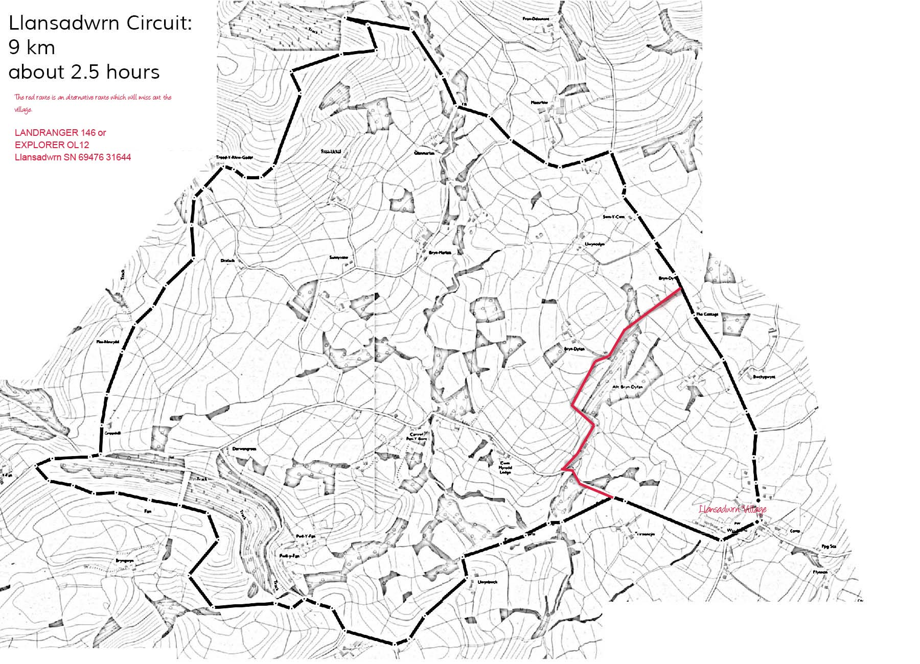 The Llansadwrn circuit