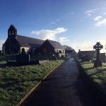 Eglwys Llansadwrn church Carmarthenshire Sir Gar